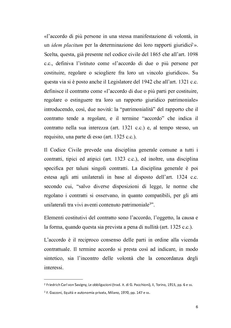 Anteprima della tesi: Proposta irrevocabile e patto d'opzione, Pagina 3