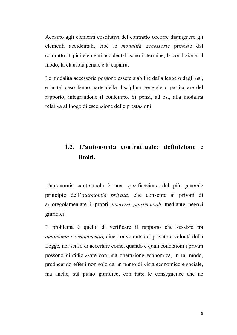 Anteprima della tesi: Proposta irrevocabile e patto d'opzione, Pagina 5