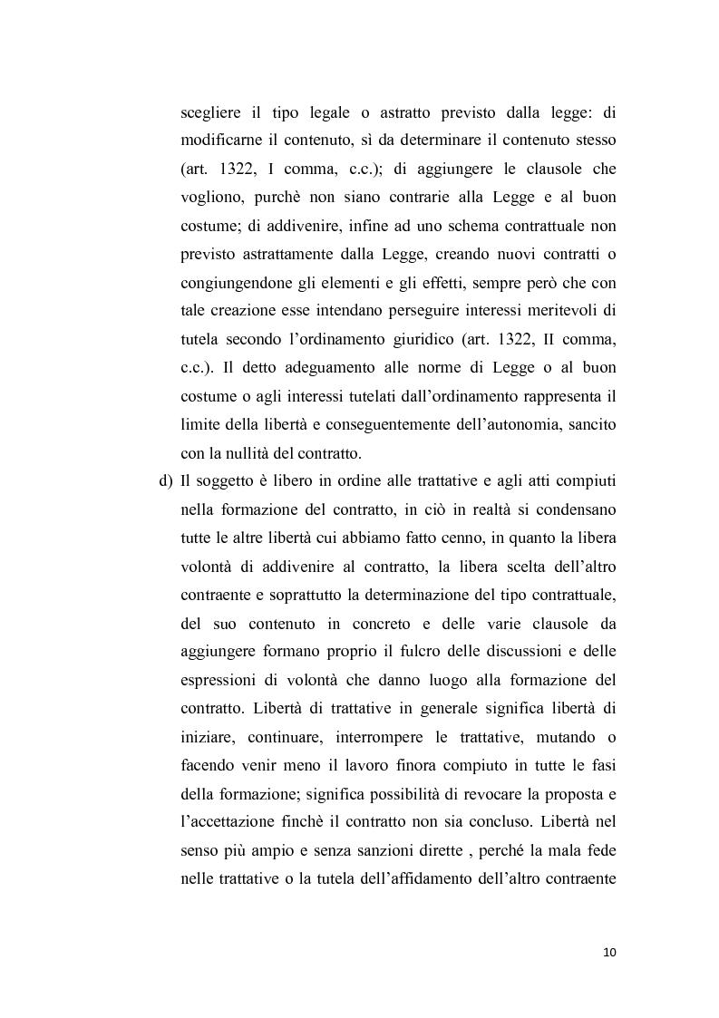 Anteprima della tesi: Proposta irrevocabile e patto d'opzione, Pagina 7