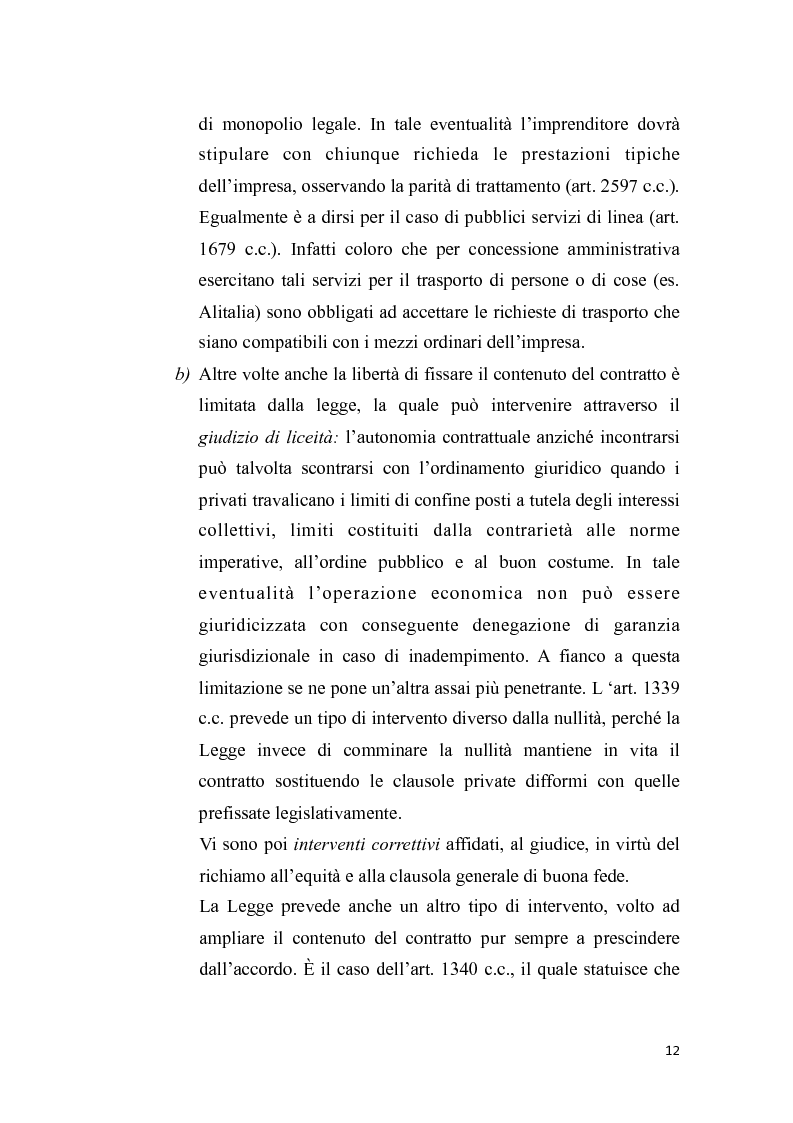 Anteprima della tesi: Proposta irrevocabile e patto d'opzione, Pagina 9