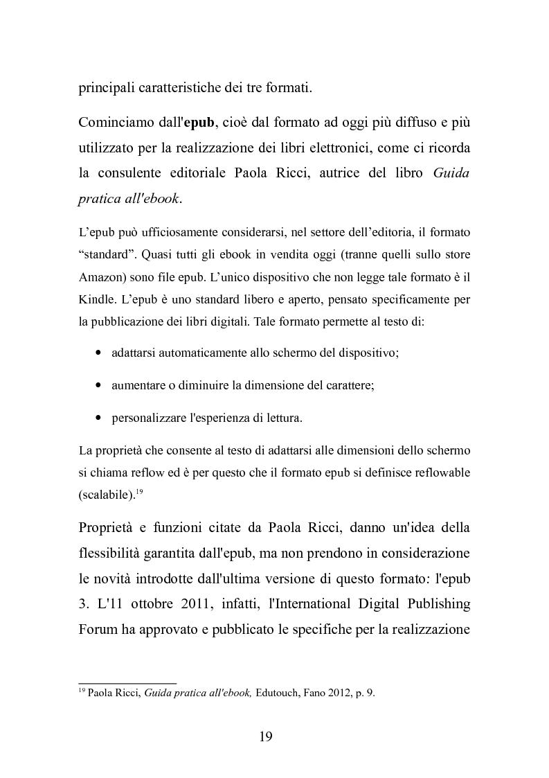 Anteprima della tesi: Le nuove frontiere dell'editoria scolastica: guida alla scoperta e alla realizzazione di contenuti digitali, Pagina 12