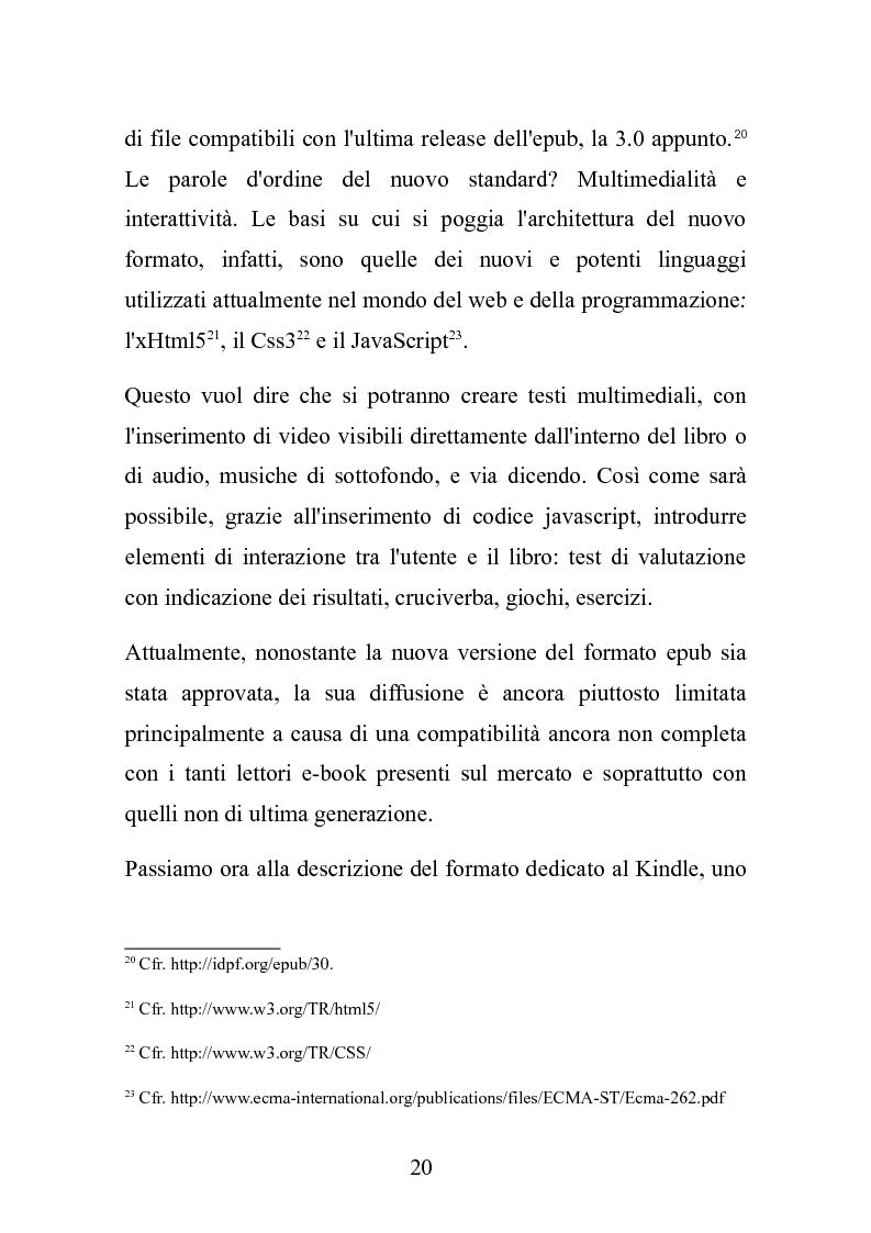 Anteprima della tesi: Le nuove frontiere dell'editoria scolastica: guida alla scoperta e alla realizzazione di contenuti digitali, Pagina 13