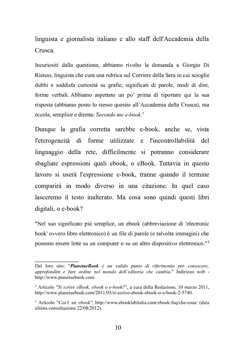 Anteprima della tesi: Le nuove frontiere dell'editoria scolastica: guida alla scoperta e alla realizzazione di contenuti digitali, Pagina 3
