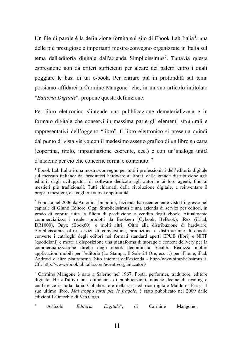 Anteprima della tesi: Le nuove frontiere dell'editoria scolastica: guida alla scoperta e alla realizzazione di contenuti digitali, Pagina 4