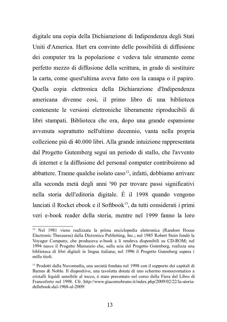 Anteprima della tesi: Le nuove frontiere dell'editoria scolastica: guida alla scoperta e alla realizzazione di contenuti digitali, Pagina 6