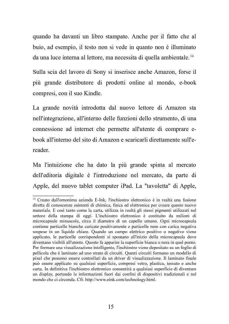 Anteprima della tesi: Le nuove frontiere dell'editoria scolastica: guida alla scoperta e alla realizzazione di contenuti digitali, Pagina 8