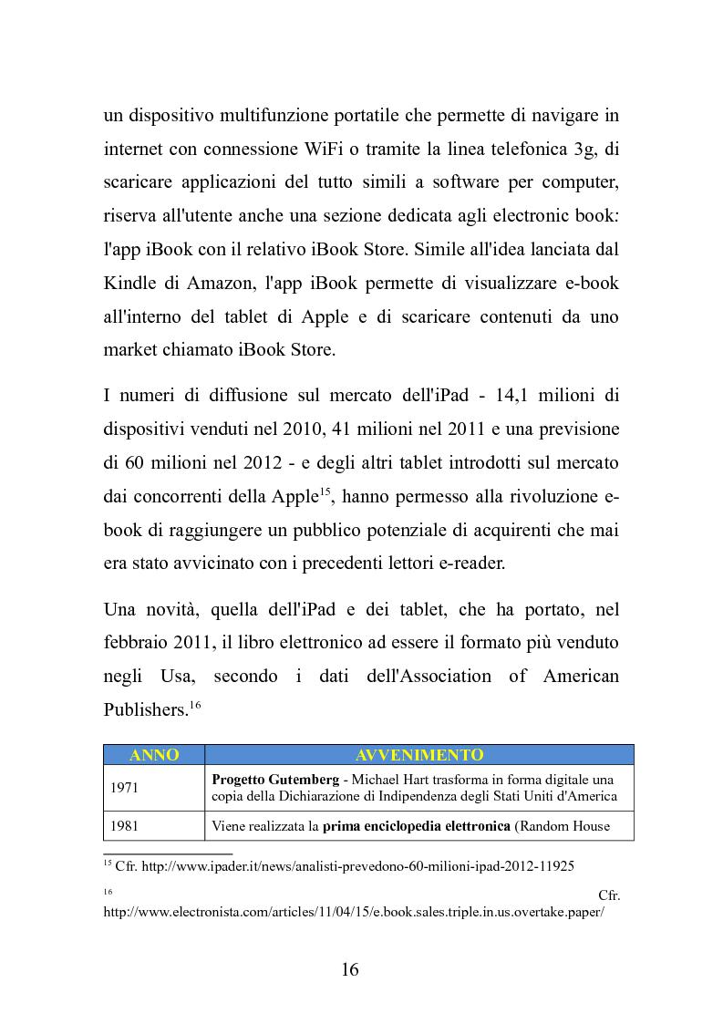 Anteprima della tesi: Le nuove frontiere dell'editoria scolastica: guida alla scoperta e alla realizzazione di contenuti digitali, Pagina 9