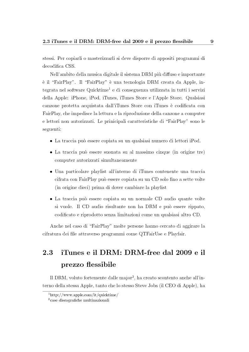 Anteprima della tesi: Nuovi modelli di business per l'industria musicale: le nuove opportunità nell'era di Internet, Pagina 11