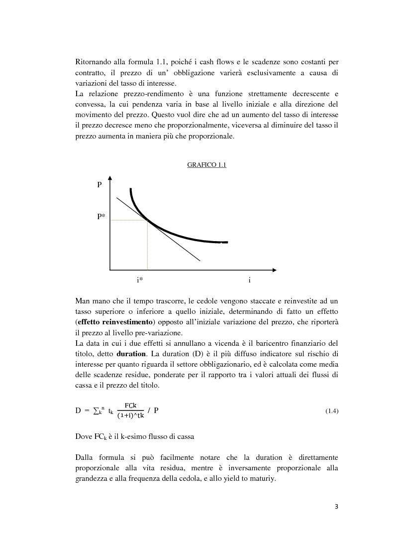 Anteprima della tesi: Fixed Income Performance Attribution, Pagina 9
