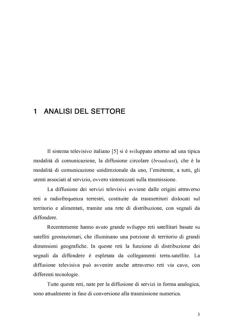 Anteprima della tesi: L'inizio di una nuova era: ''La televisione digitale'', Pagina 2