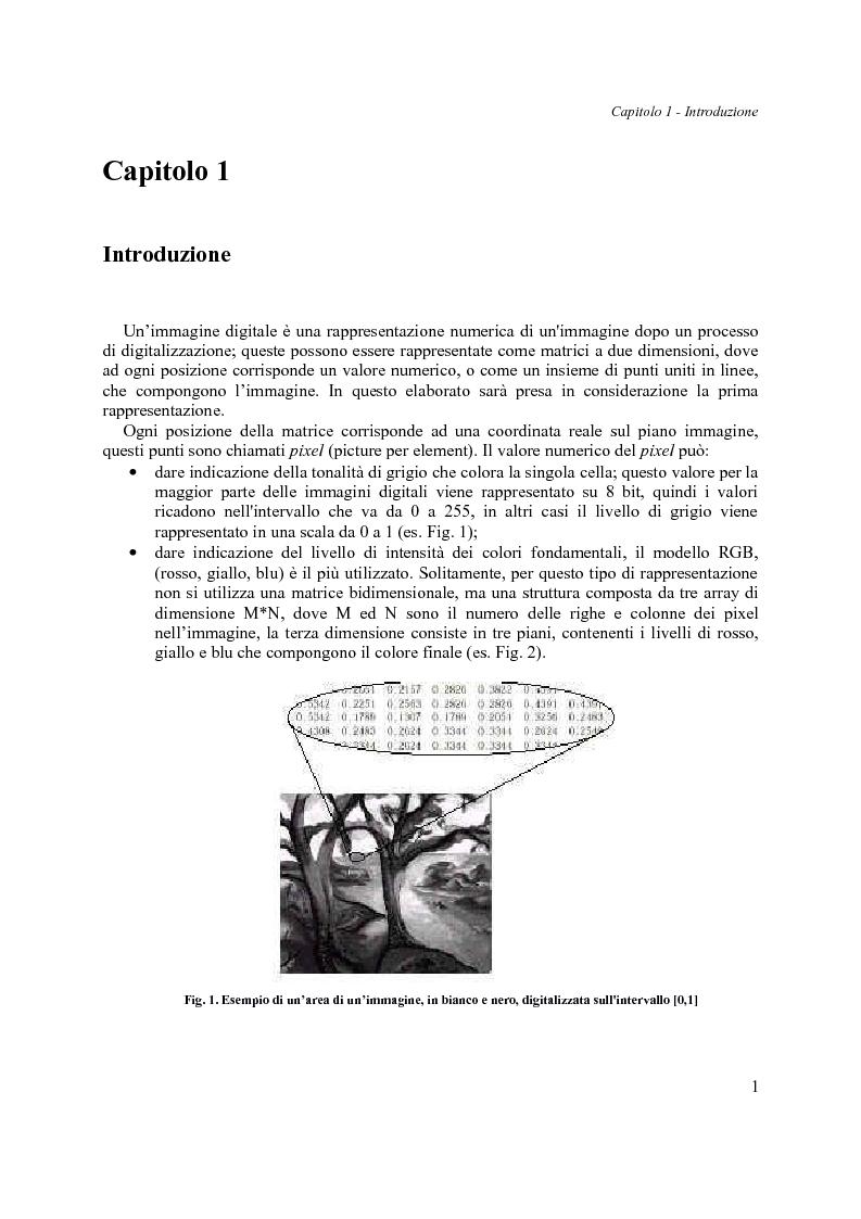 Anteprima della tesi: Analisi di Tessiture: Implementazione di alcuni descrittori statistici, Pagina 2