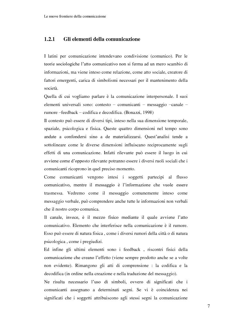 Anteprima della tesi: Le nuove frontiere della comunicazione: dalla carta stampata al web 2.0 una ricerca tra gli studenti universitari di Bologna, Pagina 8