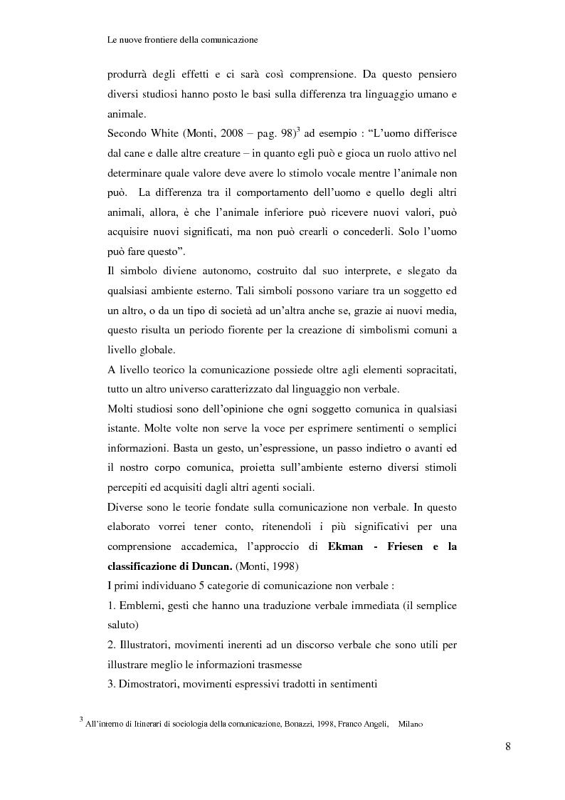 Anteprima della tesi: Le nuove frontiere della comunicazione: dalla carta stampata al web 2.0 una ricerca tra gli studenti universitari di Bologna, Pagina 9