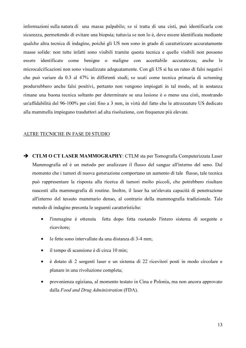 Anteprima della tesi: Analisi della fattibilità e valutazione del rischio di tecniche diagnostiche basate su radar UWB per l'individuazione del tumore al seno, Pagina 10