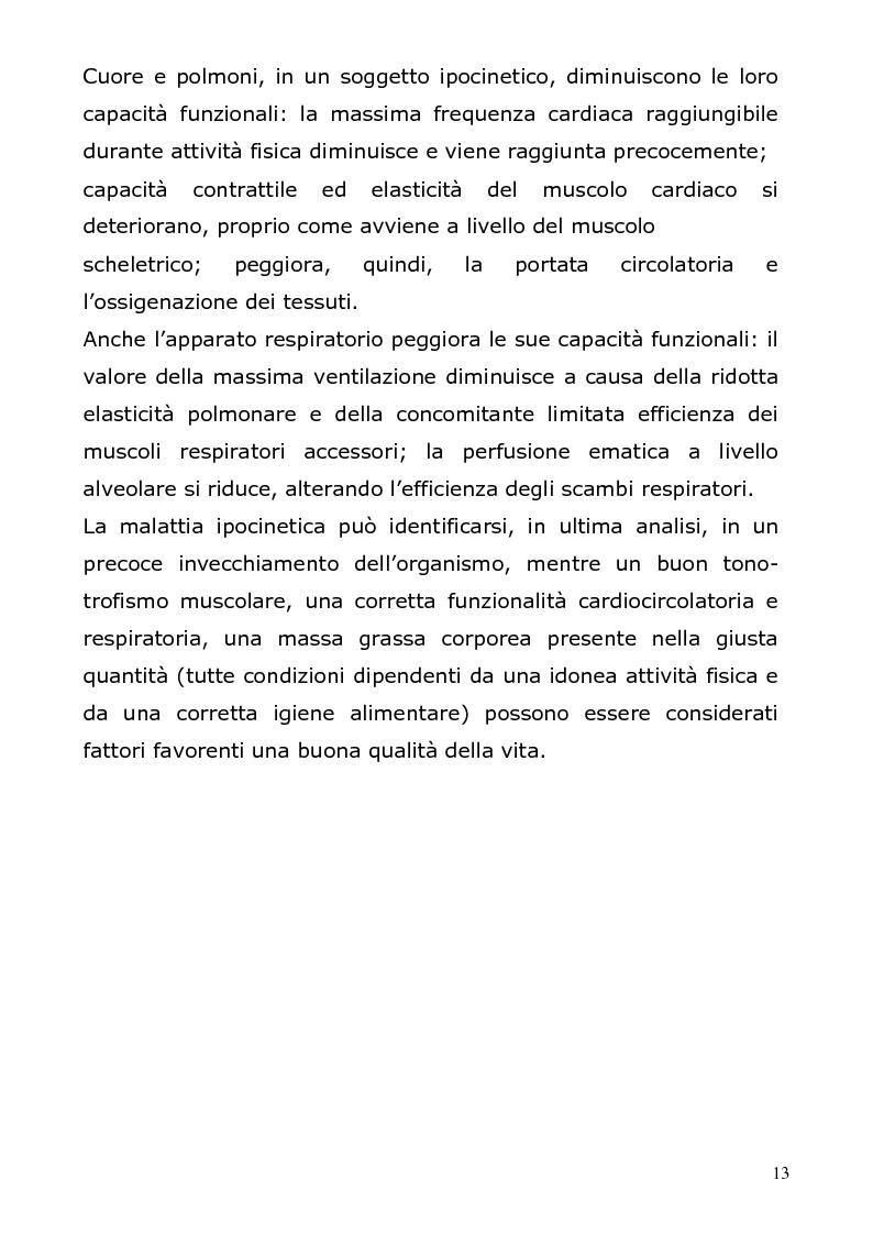Anteprima della tesi: I benefici delle attività fitness nell'età adulta, Pagina 11