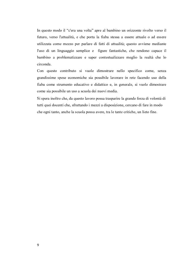 Anteprima della tesi: Ripensare la fiaba tramite l'impiego delle nuove tecnologie didattiche, Pagina 4