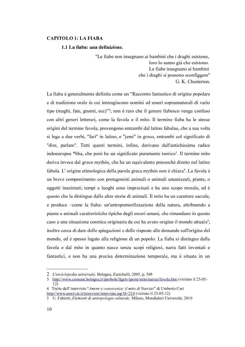 Anteprima della tesi: Ripensare la fiaba tramite l'impiego delle nuove tecnologie didattiche, Pagina 5