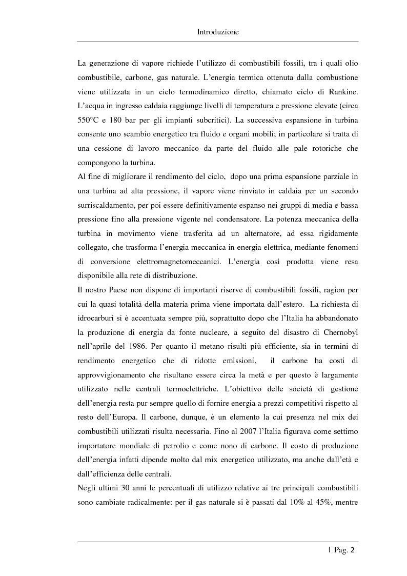 Anteprima della tesi: Studio delle fattibilità tecniche ed economiche del feedwater repowering in centrali termoelettriche a vapore, Pagina 3