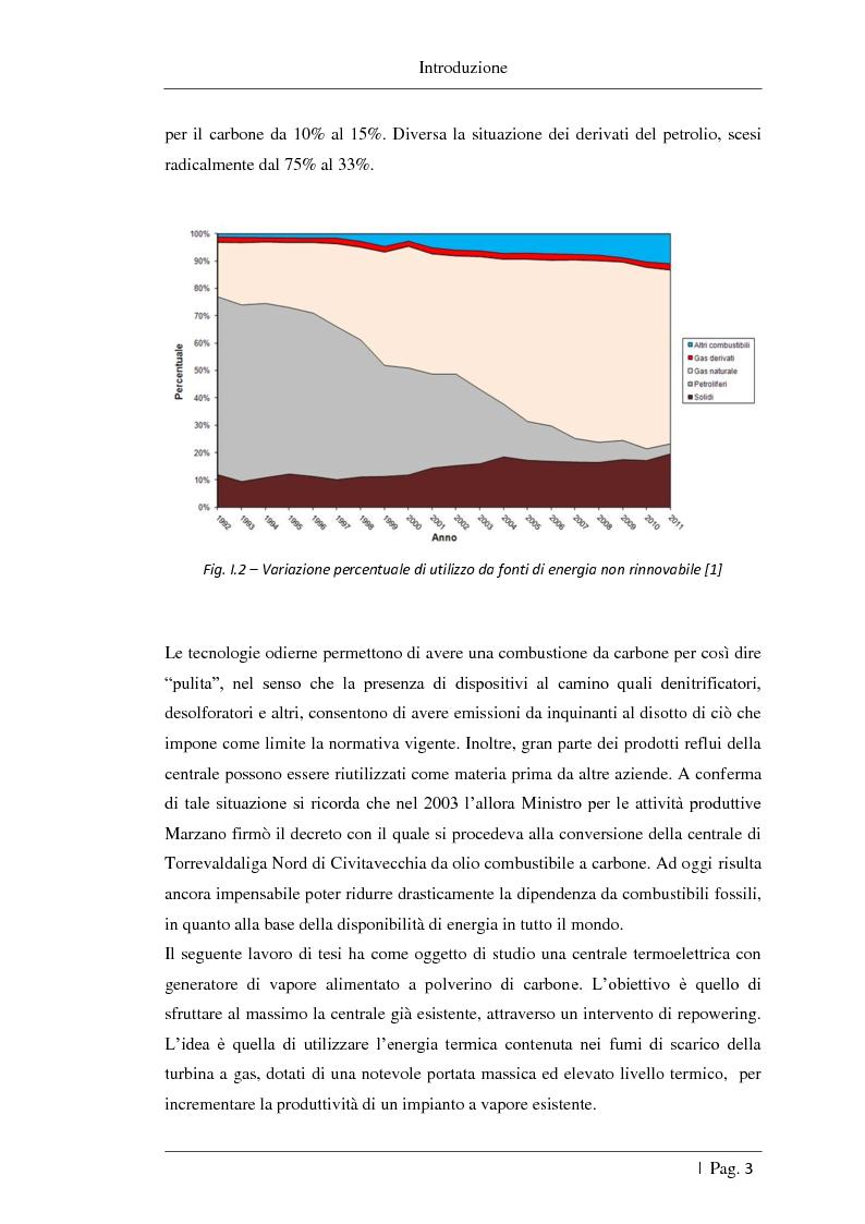Anteprima della tesi: Studio delle fattibilità tecniche ed economiche del feedwater repowering in centrali termoelettriche a vapore, Pagina 4