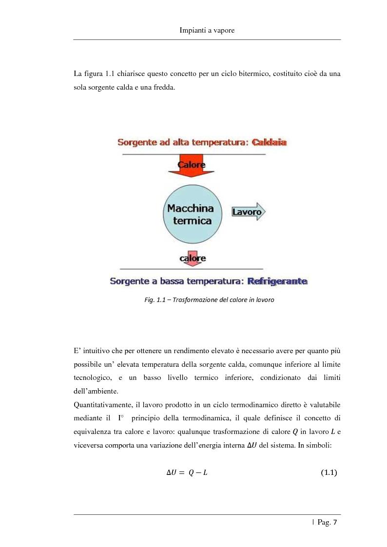 Anteprima della tesi: Studio delle fattibilità tecniche ed economiche del feedwater repowering in centrali termoelettriche a vapore, Pagina 8