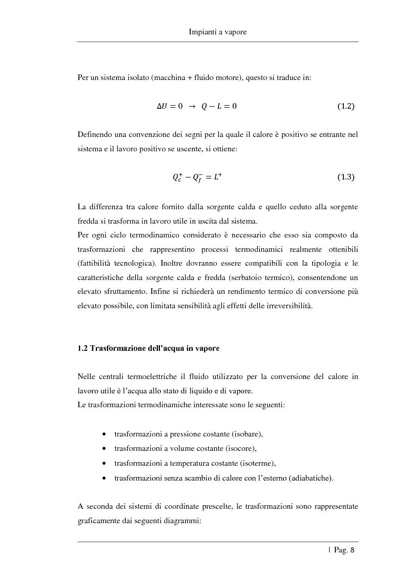 Anteprima della tesi: Studio delle fattibilità tecniche ed economiche del feedwater repowering in centrali termoelettriche a vapore, Pagina 9