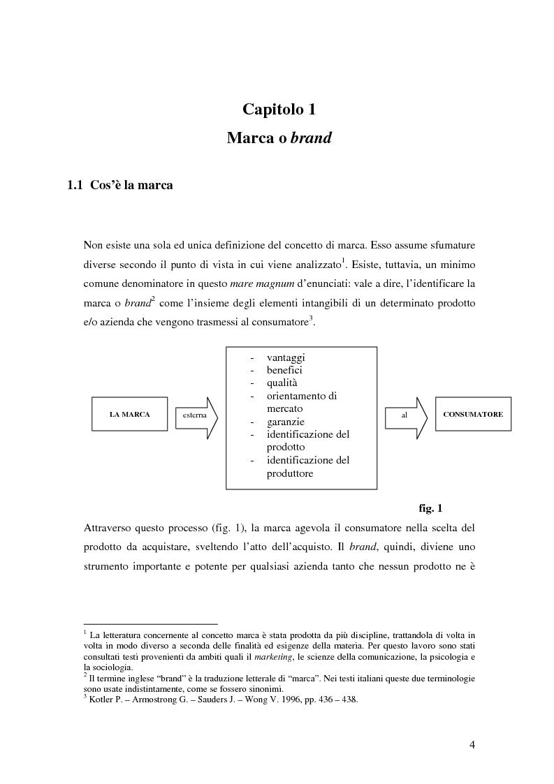 Anteprima della tesi: Il Brand Equity per il museo: possibilità e applicazioni., Pagina 5