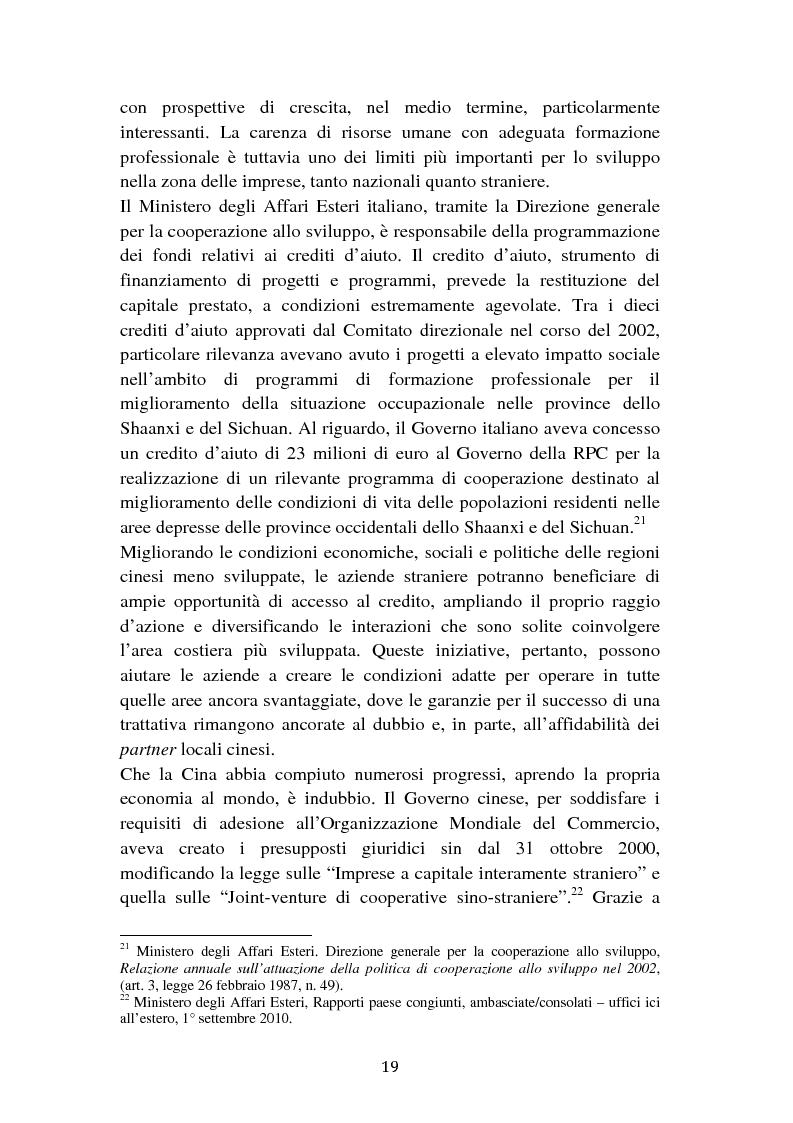 Anteprima della tesi: Il cambiamento dei consumi alimentari in Cina e le prospettive per gli imprenditori italiani, Pagina 11