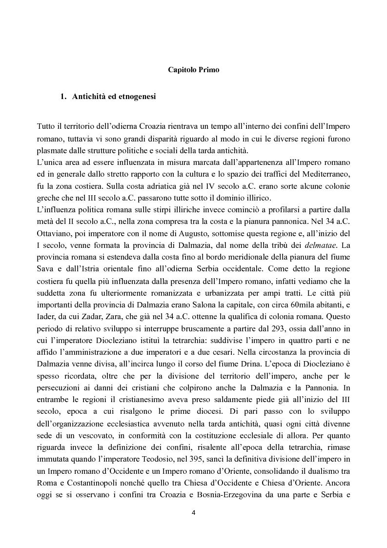 Anteprima della tesi: Il lungo percorso della Croazia verso l'Unione Europea, Pagina 2
