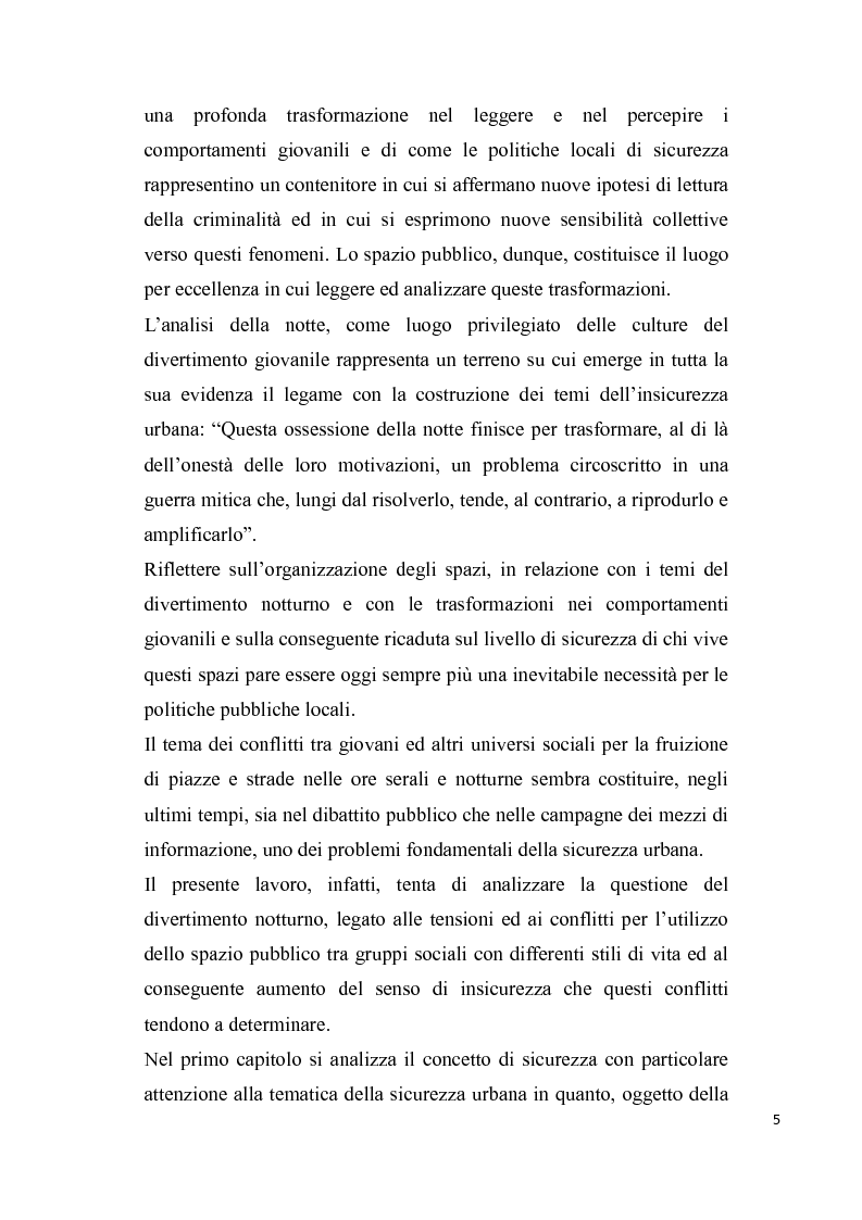 Anteprima della tesi:       Sicurezza urbana e coesione sociale: sfide e opportunità, Pagina 3