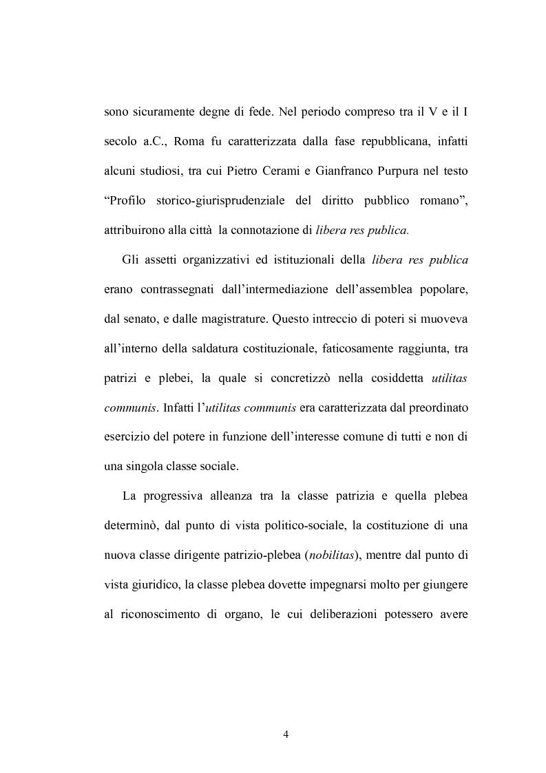 Anteprima della tesi: Plebiscito e legge, Pagina 3