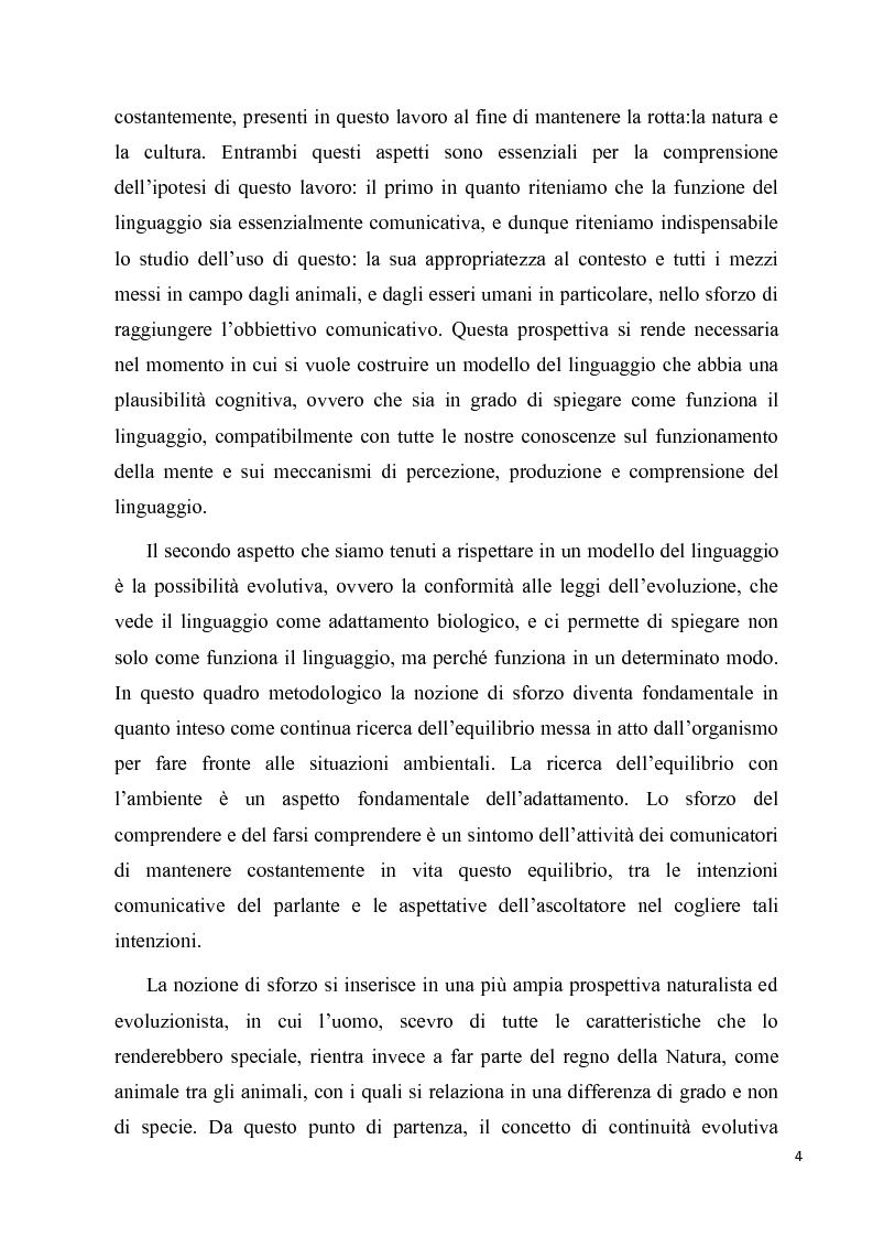 Anteprima della tesi: Natura e Cultura nel linguaggio: Chomsky, Piaget, Tomasello, Pagina 3