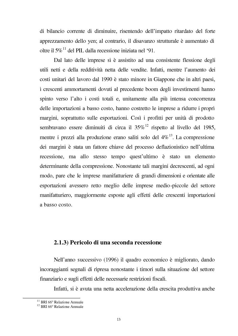 Anteprima della tesi: La crisi del sistema bancario-finanziario giapponese e le sue interrelazioni col sistema monetario internazionale, Pagina 10