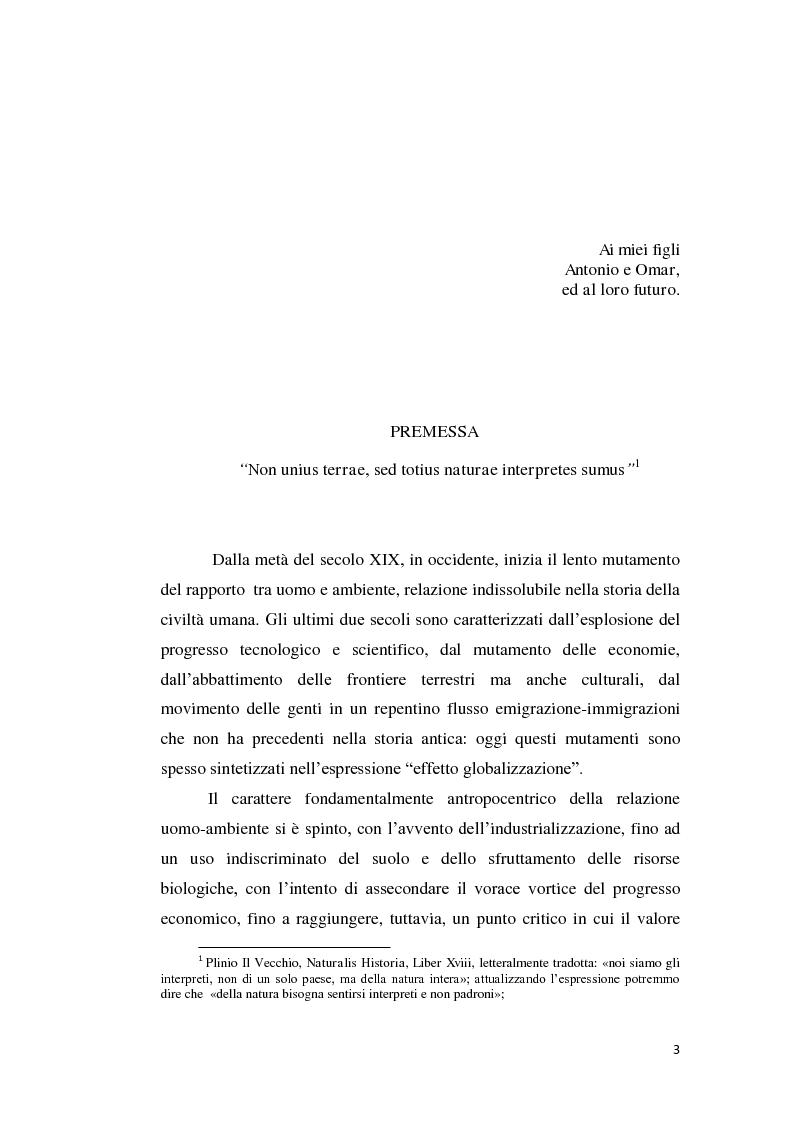 Anteprima della tesi: Profili evolutivi della politica ambientale in ambito europeo, Pagina 2