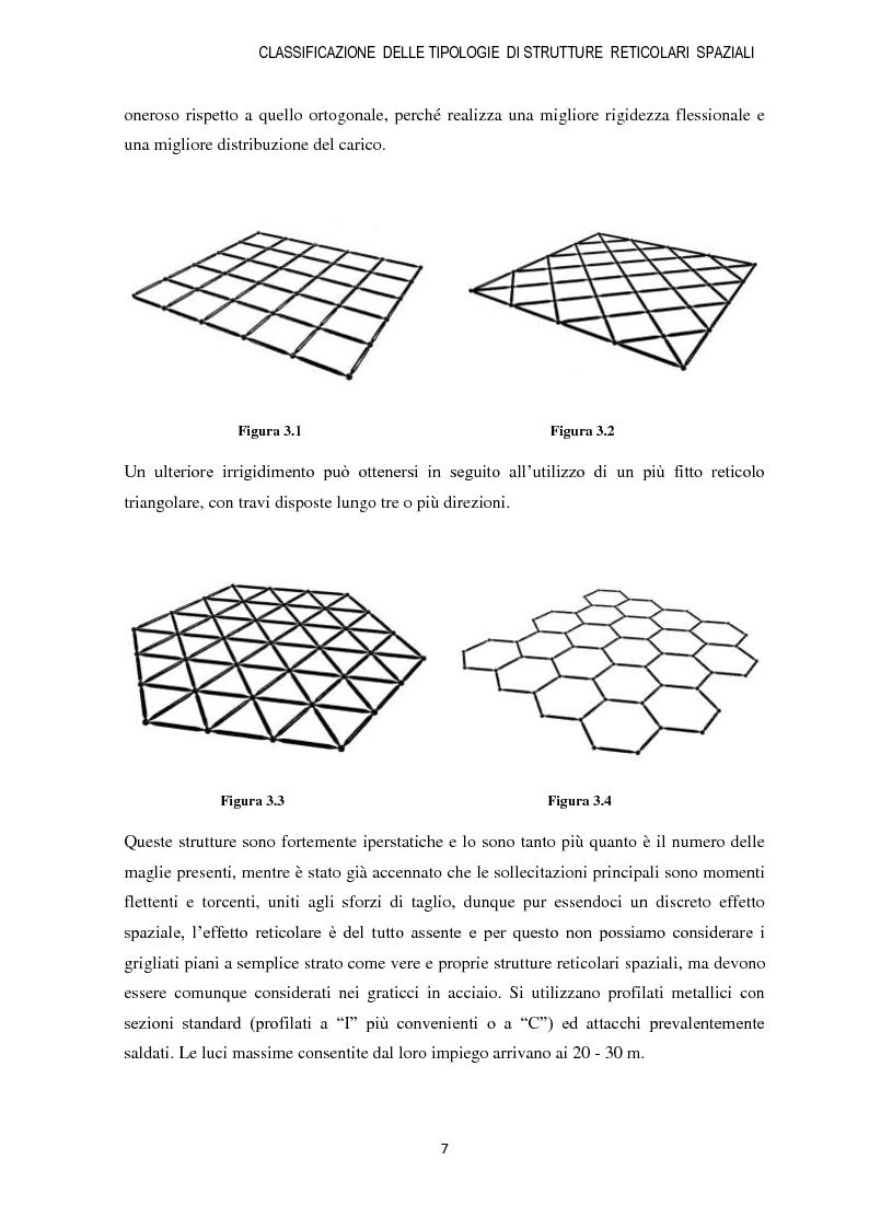 Anteprima della tesi: Strutture reticolari spaziali in acciaio: Tipologie metodi di calcolo ed esempi applicativi, Pagina 8