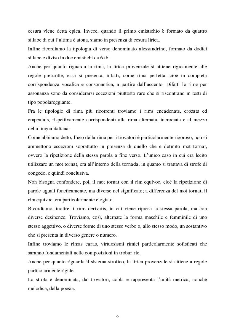 Anteprima della tesi: L'esordio invernale nei trovatori, Pagina 5