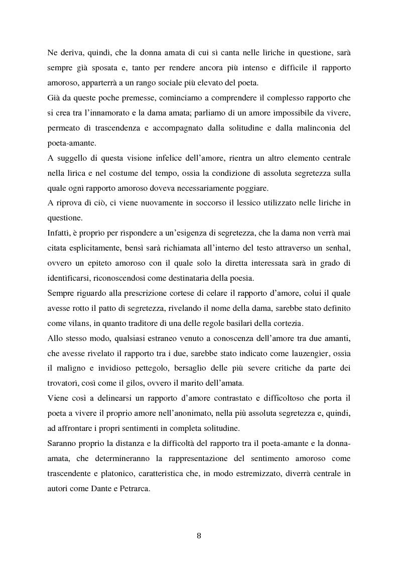 Anteprima della tesi: L'esordio invernale nei trovatori, Pagina 9