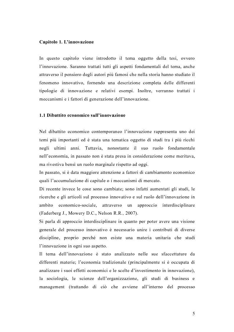Anteprima della tesi: L'innovazione come fattore critico di successo nel settore dei macchinari per la lavorazione della plastica, Pagina 4
