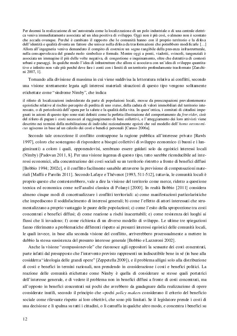Anteprima della tesi: Processi decisionali e movimenti di protesta tra scienza e politica. Una comparazione tra Italia e Francia sul caso alta velocità, Pagina 12