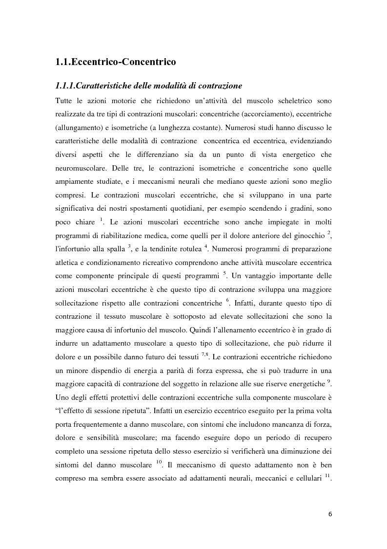 Anteprima della tesi: L'Allenamento della forza con volano inerziale: caratterizzazione meccanica e monitoraggio del periodo di apprendimento, Pagina 4
