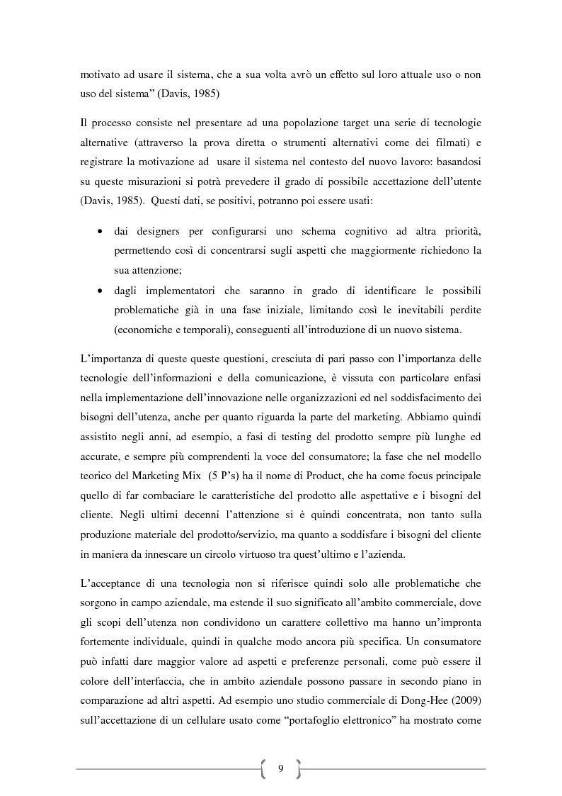 Anteprima della tesi: Tecnologie Indossabili: la valutazione dell'esperienza dell'utente in 6 differenti scenari d'uso., Pagina 6
