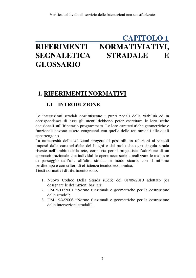 Anteprima della tesi: Verifica del Livello di Servizio delle Intersezioni non semaforizzate, Pagina 2