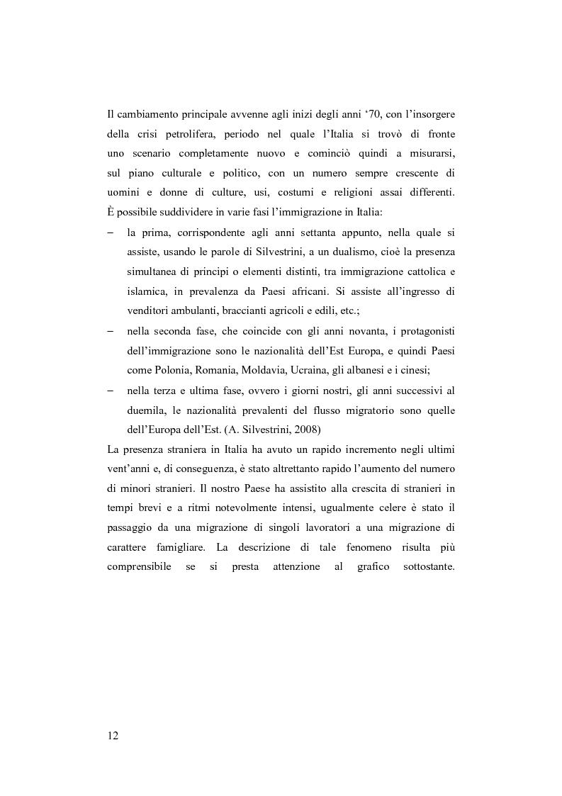Anteprima della tesi: Minori stranieri in Italia in condizioni difficili: il caso dei minori non accompagnati, Pagina 7