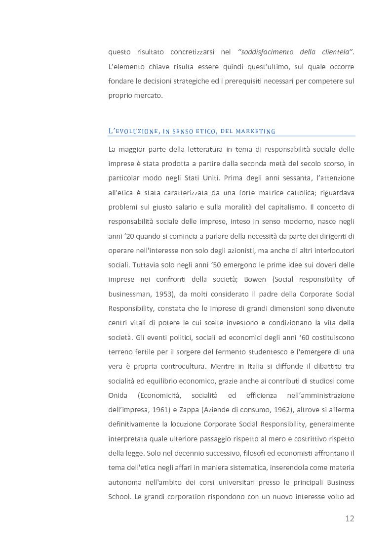 Anteprima della tesi: Come creare valore attraverso la sostenibilità. Il caso Barilla., Pagina 10