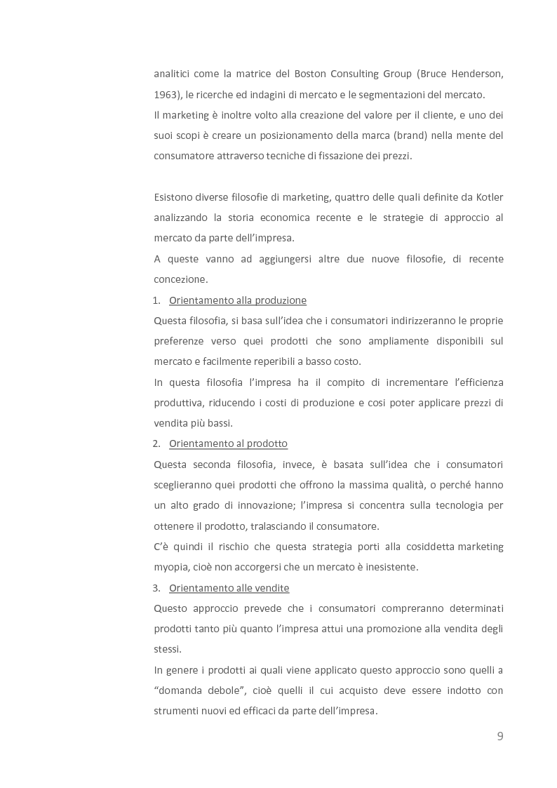 Anteprima della tesi: Come creare valore attraverso la sostenibilità. Il caso Barilla., Pagina 7
