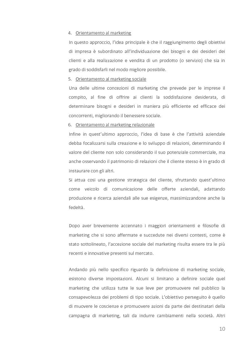 Anteprima della tesi: Come creare valore attraverso la sostenibilità. Il caso Barilla., Pagina 8