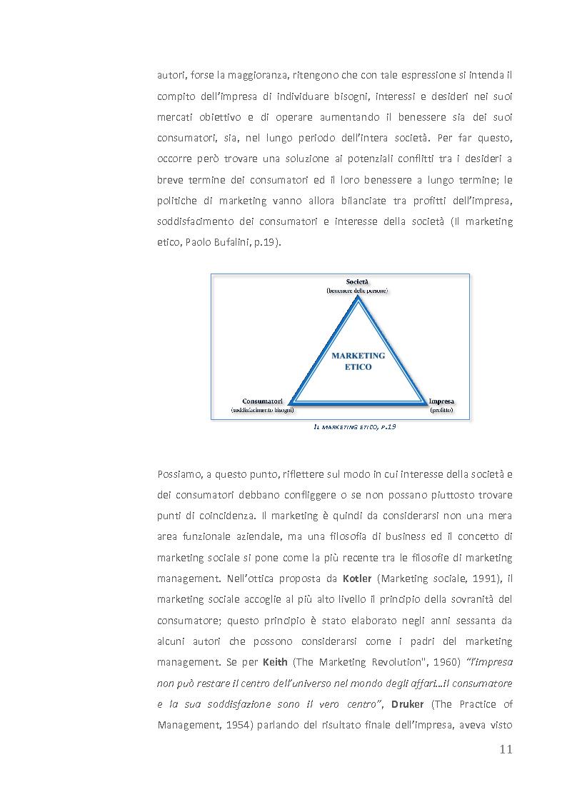 Anteprima della tesi: Come creare valore attraverso la sostenibilità. Il caso Barilla., Pagina 9