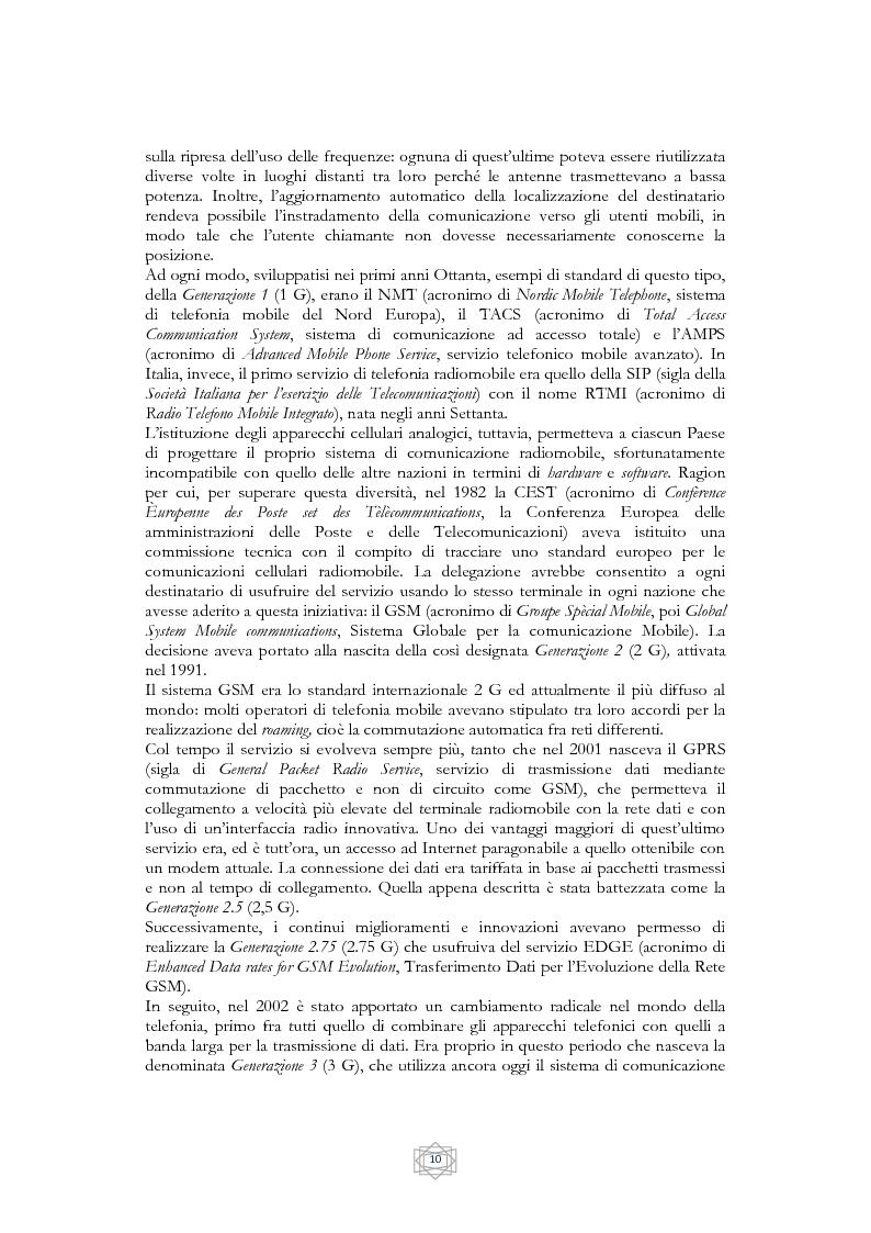 Anteprima della tesi: Problematiche informatico-giuridiche degli SMS e degli MMS, Pagina 7