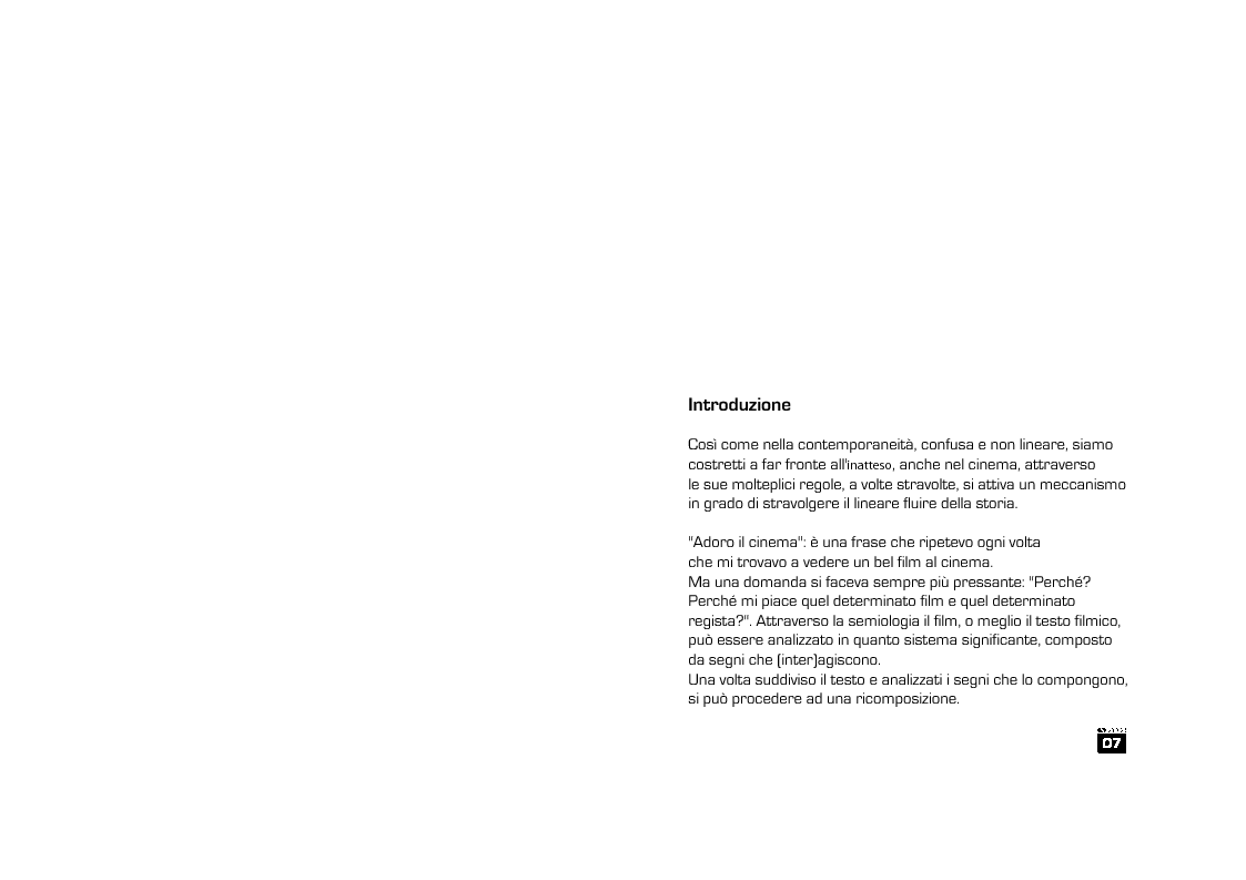 Anteprima della tesi: L'inatteso in alcune narrazioni del cinema contemporaneo, Pagina 4