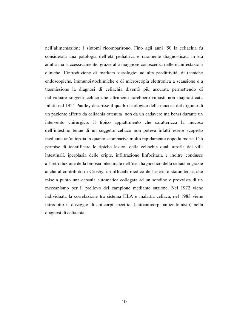 Anteprima della tesi: Reazioni avverse agli alimenti: la sensibilità al glutine. Le nuove ipotesi scientifiche e il ruolo dell'infermiere nell'educazione terapeutica del paziente., Pagina 7