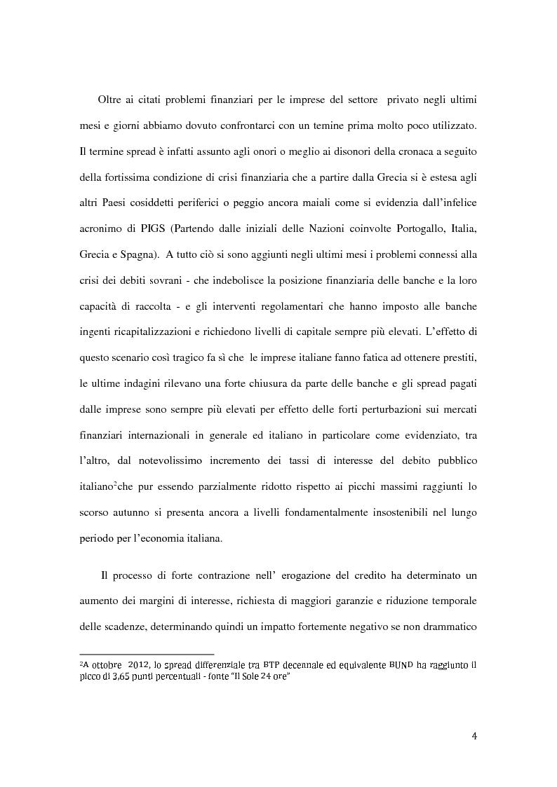 Anteprima della tesi: Ambito operativo, evoluzione strategica e modello distributivo dei confidi, Pagina 3